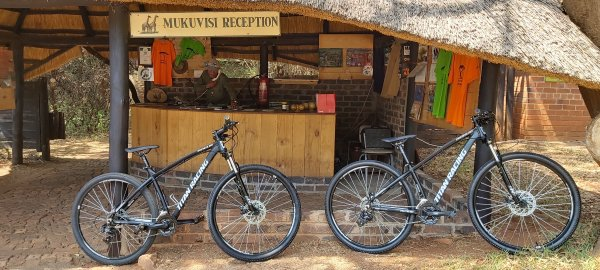 Mukuvisi mountain bikes for hire