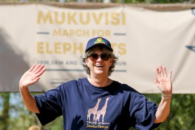 March for Elephants Mukuvisi 2019