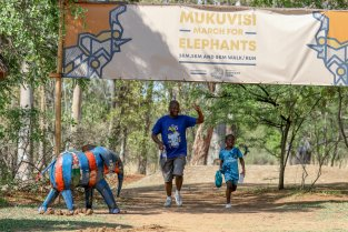 Mukuvisi March for Elephants 2019